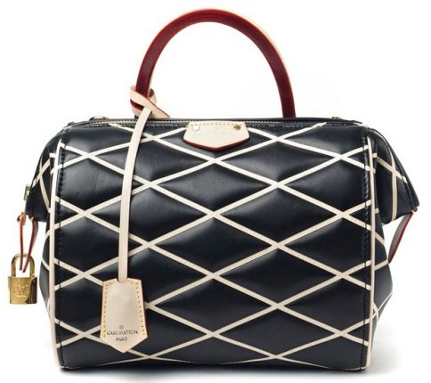 Louis Vuitton borsa Black Losange Doc BB Bag