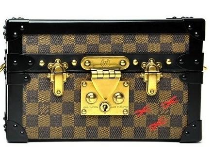 Louis Vuitton borsa Damier Ebene Petite Malle
