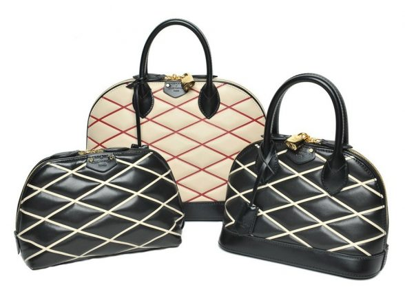 Louis Vuitton borsa Losange Alma and Pouch Bags