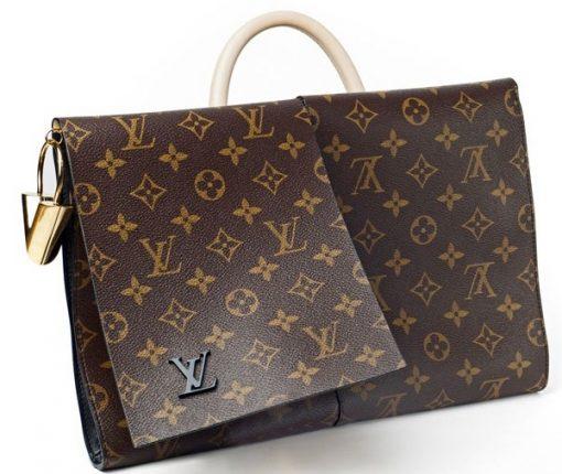 Louis Vuitton borsa Monogram Canvas Flip Flap Bag