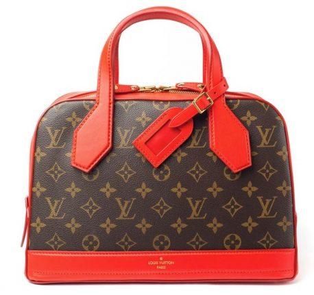 Louis Vuitton borsa Red Monogram Canvas Neo Marceau Bag