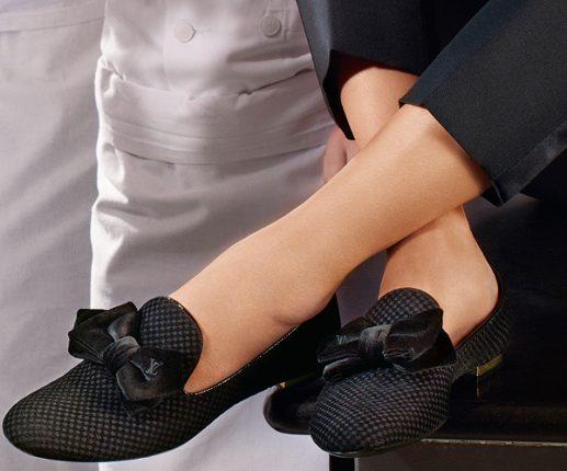 Louis Vuitton mocassini con fiocco