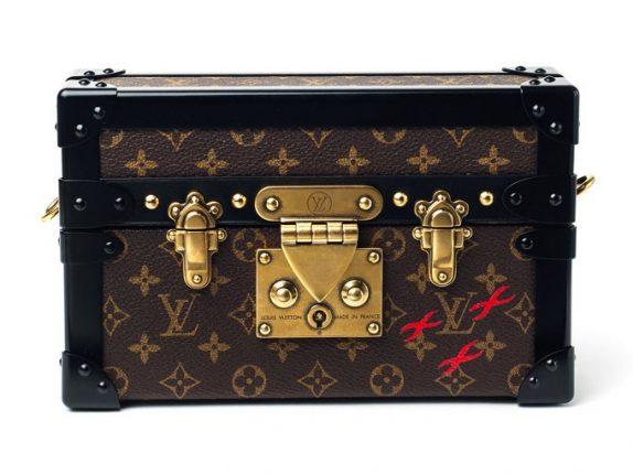Louis Vuitton Monogram Canvas Petite Malle Bag 2015