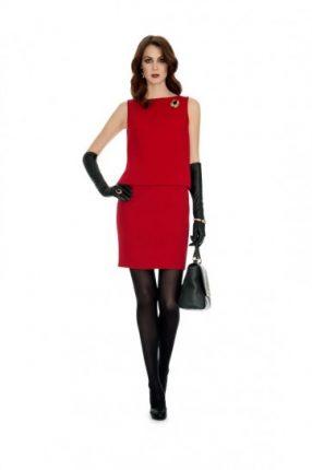 Luisa Spagnoli abito rosso