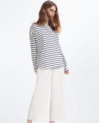 Maglia a righe Zara primavera estate