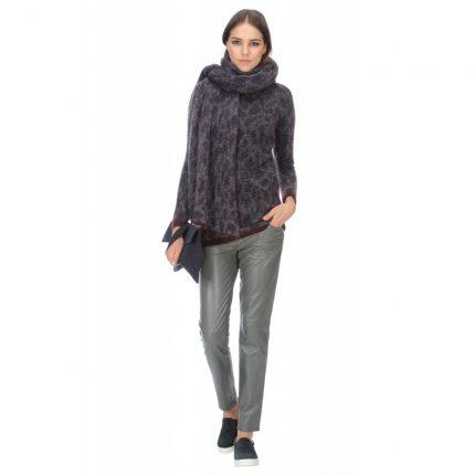 Maglia misto lana jacquard Stefanel autunno inverno 2015