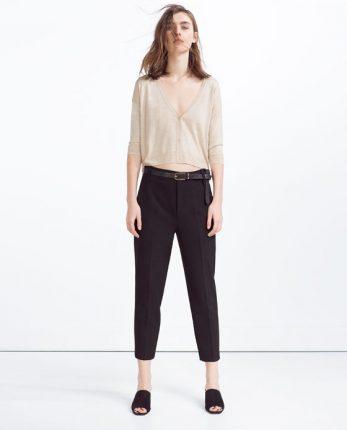 Maglietta a V Zara primavera estate