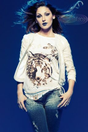 Maglietta con tigre Coconuda primavera estate 2013