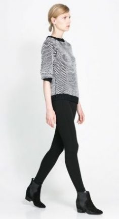 Maglietta optical Zara primavera estate 2014