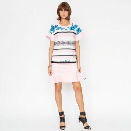 Maglietta stampata Pinko primavera estate 2014