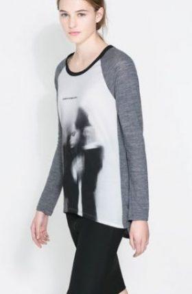 Magliette con stampe Zara primavera estate 2014