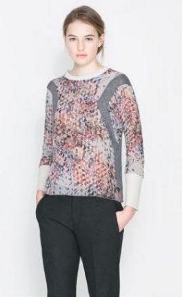 Magliette stampate Zara primavera estate 2014