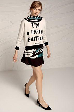 Maglione con scritta Patrizia Pepe