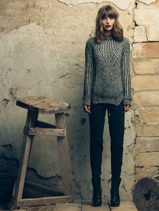 Maglione lana Fornarina autunno inverno 2015