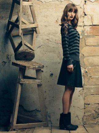 Maglione righe Fornarina autunno inverno 2015