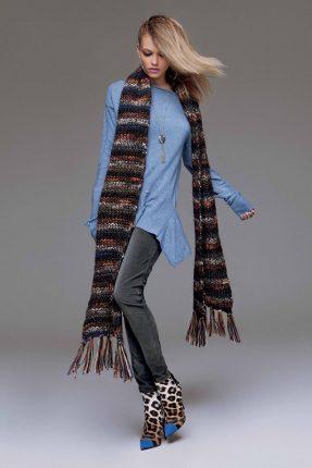Mani abito Denny Rose autunno inverno 2015