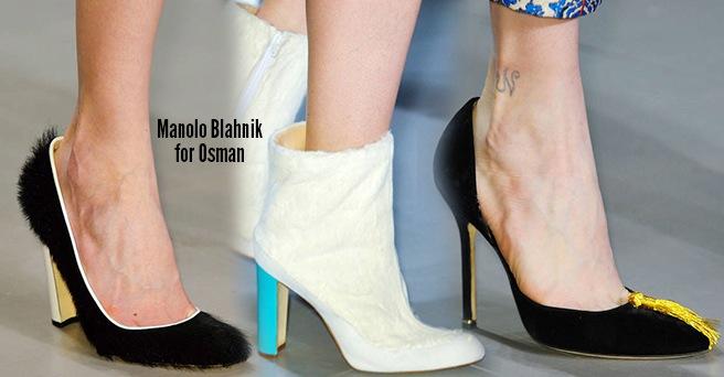 Manolo Blahnik scarpe catalogo autunno inverno 2014 2015
