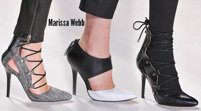 Marissa Webb scarpe catalogo autunno inverno 2014 2015