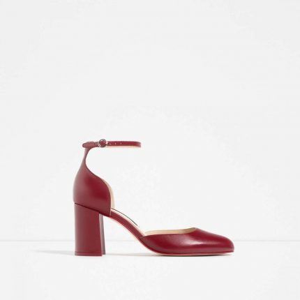 Mary Jane bordeaux Zara autunno inverno 2017