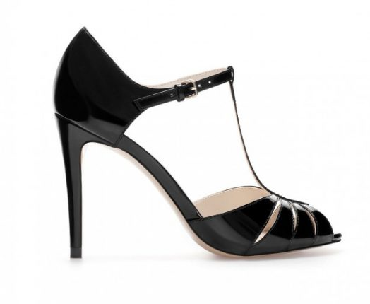 Mary jane in vernice nera Zara autunno inverno 2013 2014