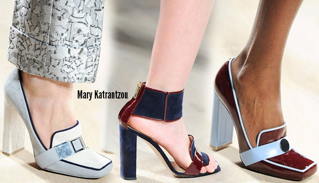 Mary Katrantzou scarpe catalogo autunno inverno 2014 2015