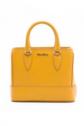 Max Mara borsa giallo ocra