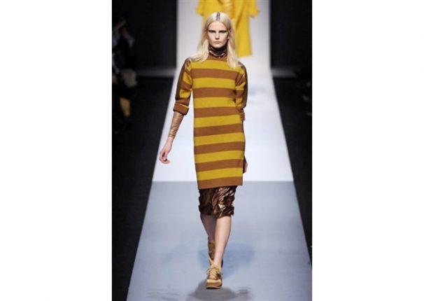 Max Mara collezione autunno inverno 2013 2014 abito lana