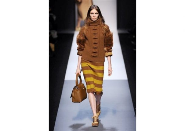 Max Mara collezione autunno inverno 2013 2014 maglione gonna