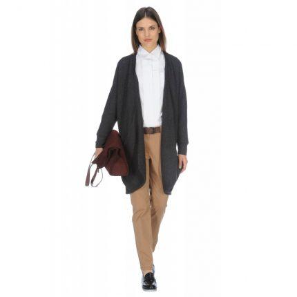 Maxi cardigan in lana Stefanel autunno inverno 2015