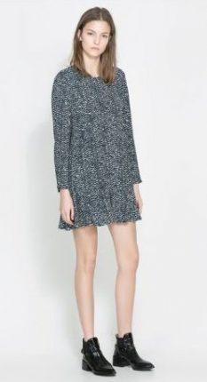 Mini abito Zara primavera estate 2014