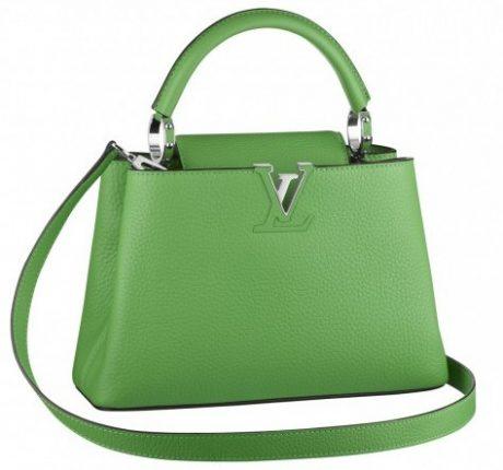 Mini bag Louis Vuitton verde chiaro
