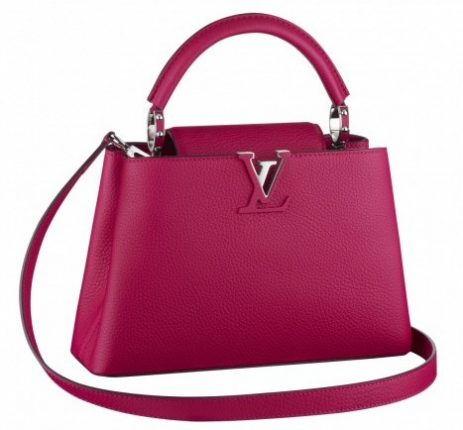 Mini bag magenta Louis Vuitton