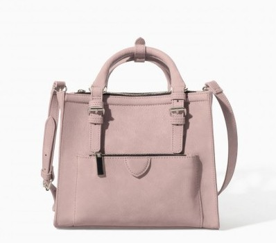 Mini bag rosaZara borse autunno inverno 2015
