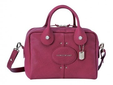 Mini bauletto Longchamp malva