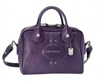 Mini bauletto Longchamp viola