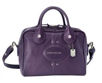 Mini bauletto Longchamp viola