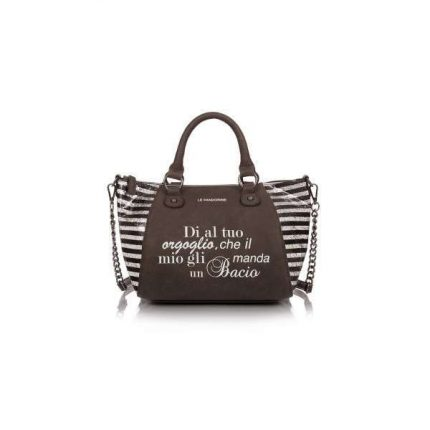 Mini handbag a righe Le Pandorine autunno inverno 2017