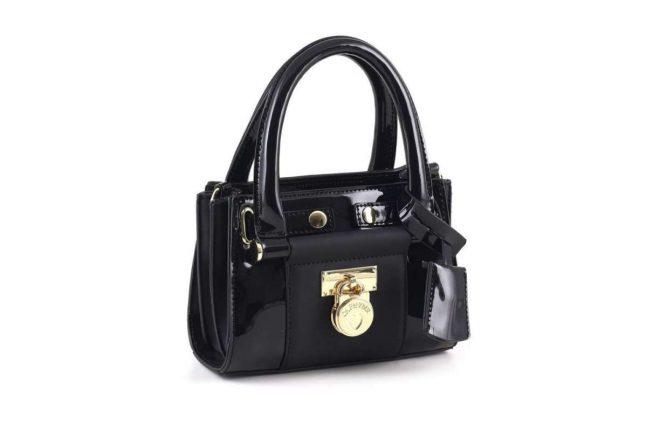 Mini handbag nera Cafe Noir autunno inverno 2017