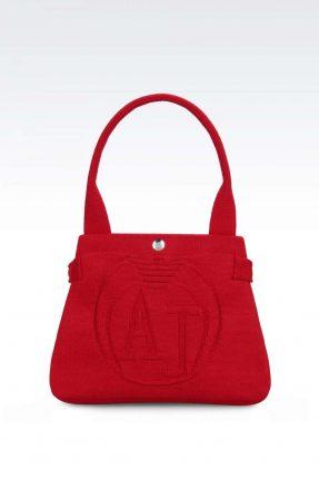 Mini handbag rossa Armani Jeans autunno inverno 2017