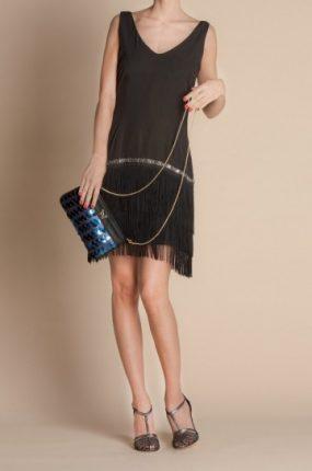 Minidress con frange Atelier Fix Design primavera estate