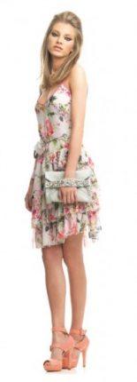 Minidress floreale Fornarina primavera estate 2013