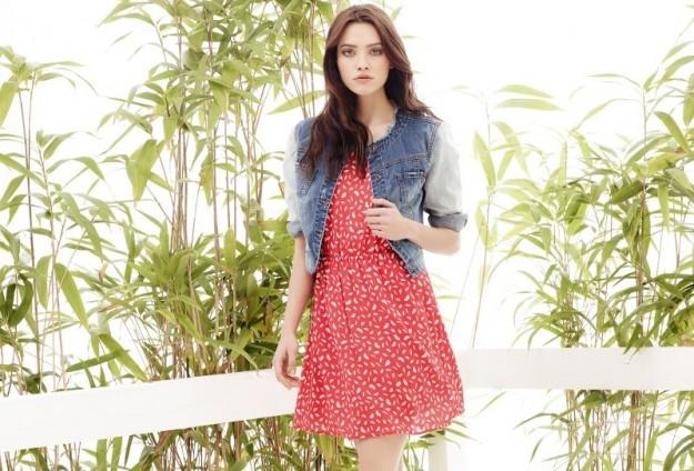 Minidress giacca jeans Motivi primavera estate 2014