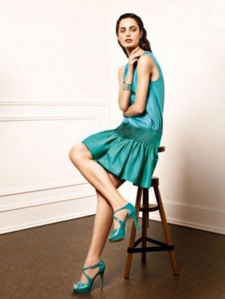 Minidress plisse Liu Jo primavera estate 2013