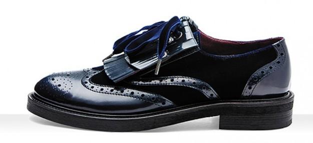 Mocassini lucidi Frau scarpe autunno inverno 2014 2015