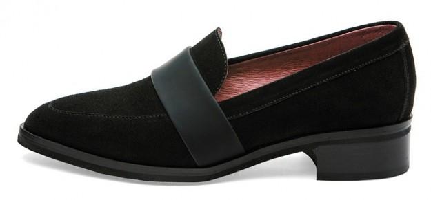 Mocassini neri Frau scarpe autunno inverno 2014 2015