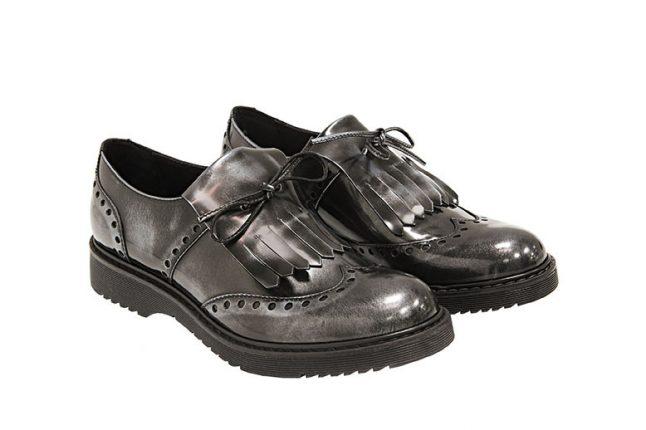 Mocassini neri Tosca Blu scarpe autunno inverno 2015