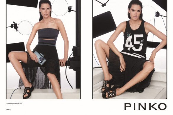Moda Pinko primavera estate 2014