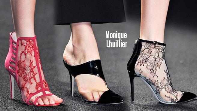 Monique Lhuillier scarpe catalogo autunno inverno 2014 2015