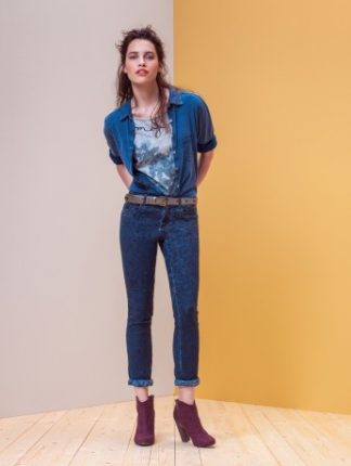 Motivi autunno inverno 2013 2014 outfits denim