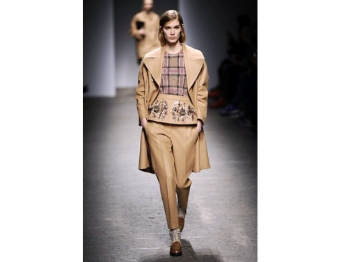 N 21 collezione autunno inverno 2013 2014 giacone pelle